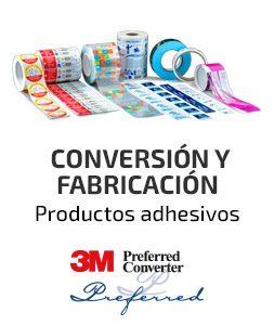 Fustier conversion y fabricación de productos adhesivos 3M