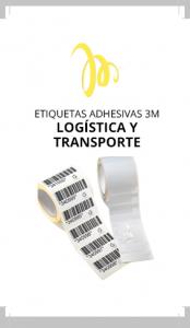 Equip 3000 fabricación de etiquetas adhesivas 3M para logística y transporte: etiquetas neutras, especiales, de seguridad