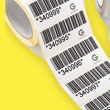 Impresión de etiquetas adhesivas 3M logística en Equip 3000 Barcelona