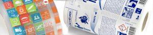 Equip 3000 fabricación de etiquetas adhesivas 3M decorativas para todo tipo de productos y envases