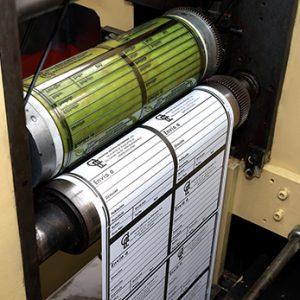 : Equip 3000 dispone de maquinaria Flexo U/V para la impresión de etiquetas de 4 colores