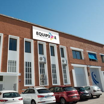 Equip 3000 fabricación de etiquetas adhesivas 3M fachada
