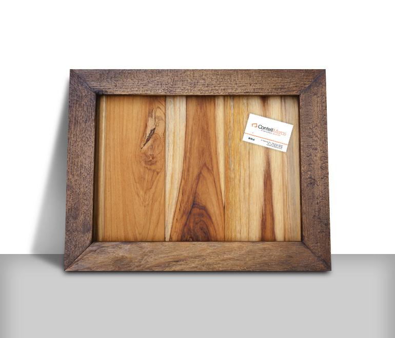 Equip3000 Etiqueta autoadhesiva decorativa en marco de cuadro antiguo