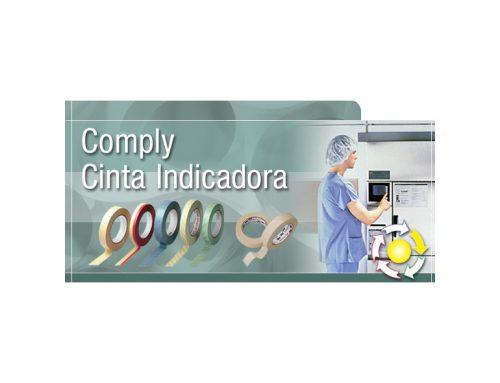 Cinta adhesiva indicadora 3M Comply para la esterilización de equipamiento quirúrgico