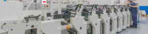 Equip 3000 dispone de maquinaria Flexo U/V para la impresión de etiquetas