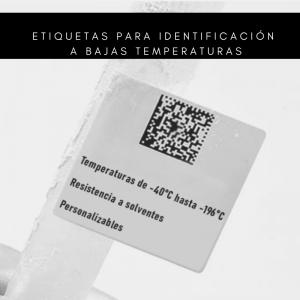 ETIQUETAS PARA BAJAS TEMPERATURAS